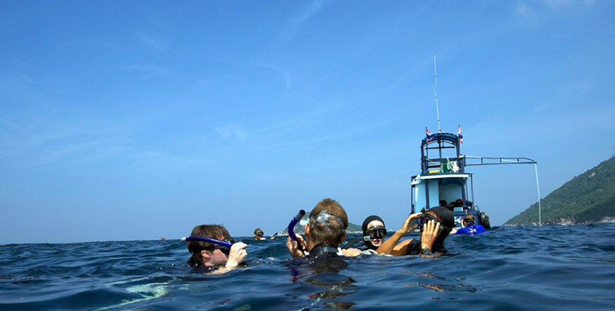 Free diving, Freediving Courses, Koh Tao, Instructor